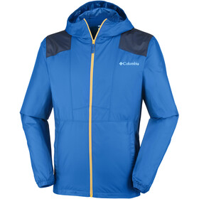 Columbia Flashback Windbreaker Jacket Men super blue/col